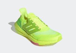 Adidas Ultraboost 21 Solar Yellow/Solar Yellow/Screaming Pink