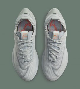 Nike Zoom Double-Stacked Grey Fog/White/Hyper Crimson