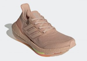 Adidas Ultraboost 21 Ash Pearl/Ash Pearl/Hazy Rose