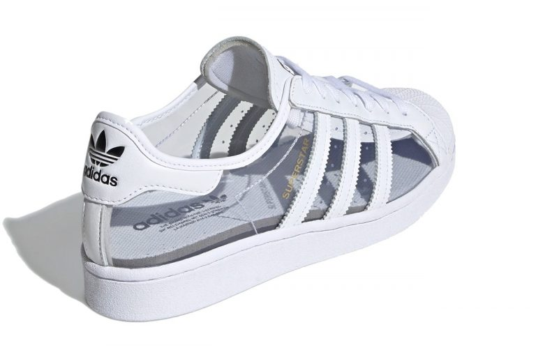 Adidas представил прозрачную модель Superstar