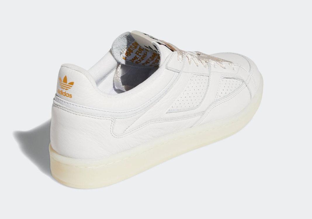 adidas Experiment 2 Crystal White/Chalk White/Gold Metallic