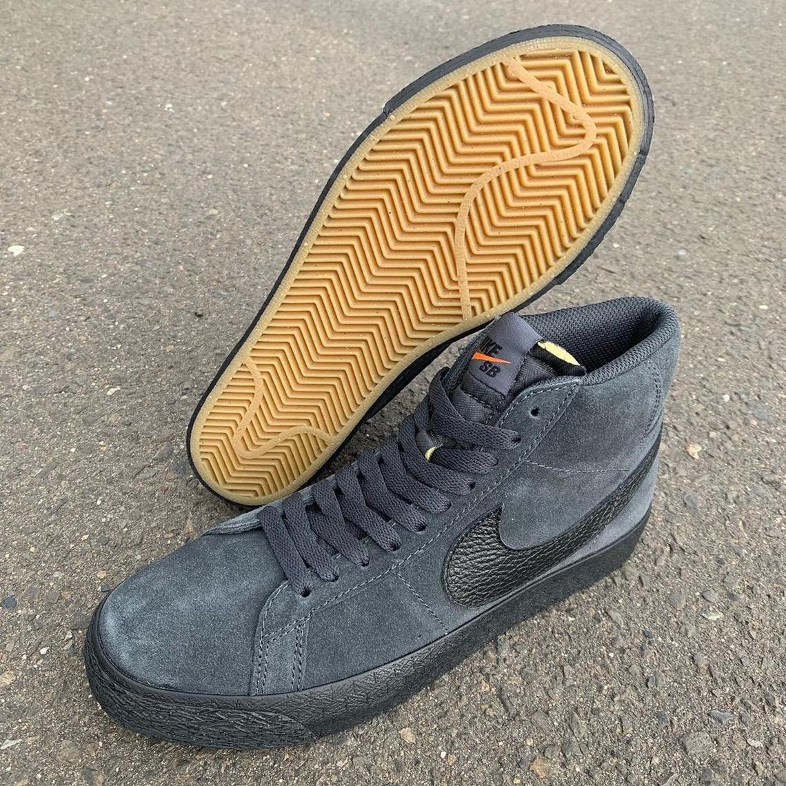 Nike SB Blazer Mid «Orange Label»