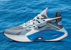 Nike Signal D / MS / X Dark Grey/White-Ocean Cube-Summit White