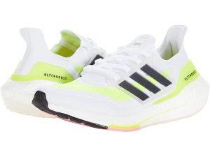 Adidas Ultraboost 21 White/Black/Solar Yellow