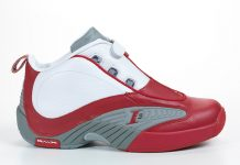 Reebok Answer IV OG White/Red/Grey