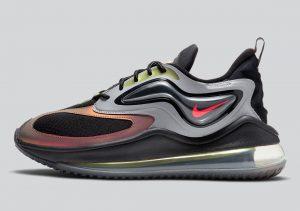 Nike Air Max Zephyr Grey/Celery/Saturn Red