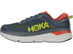 Hoka One One Bondi 7 Turbulence/Chili