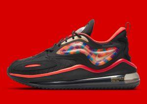 Nike Air Max Zephyr Black/Bright Crimson-Pepper Red-Metallic Gold