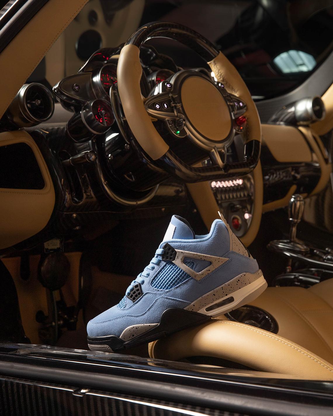 Air Jordan 4 x Pagani Huayra
