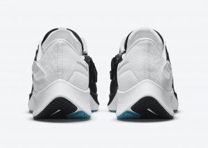 Nike Air Zoom Pegasus 38 Black/White-Chlorine Blue-Metallic Silver