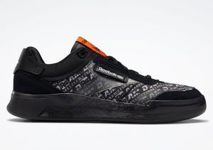 BlackEyePatch x Reebok Club C Legacy Black/Swag Orange/White