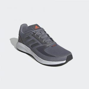 Adidas Runfalcon 2.0 Grey/Iron Metallic/Solar Red