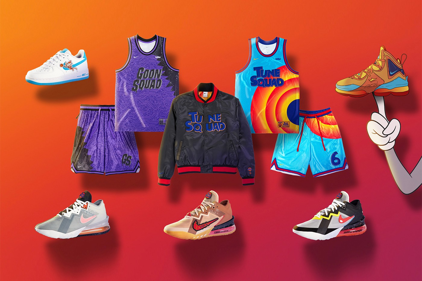 Nike/Converse Space Jam: A New Legacy
