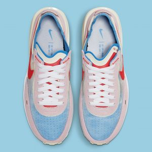 Nike Waffle One Pink/Red/Blue