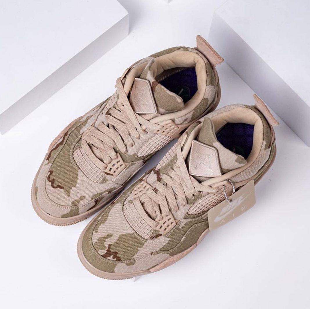 """Aleali May x Air Jordan 4 """"Camo"""""""