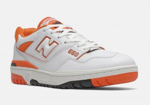 New Balance 550 White/Orange