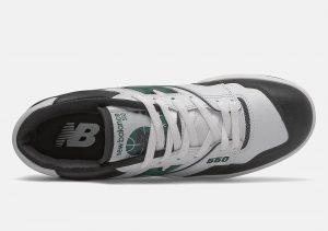 New Balance 550 Team Green