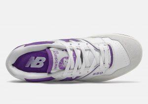 New Balance 550 Purple Lead
