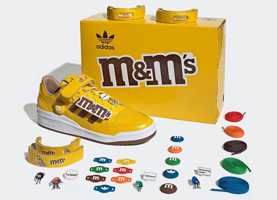 M&M's x adidas Forum Low