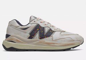 New Balance 57/40 White/Natural Indigo