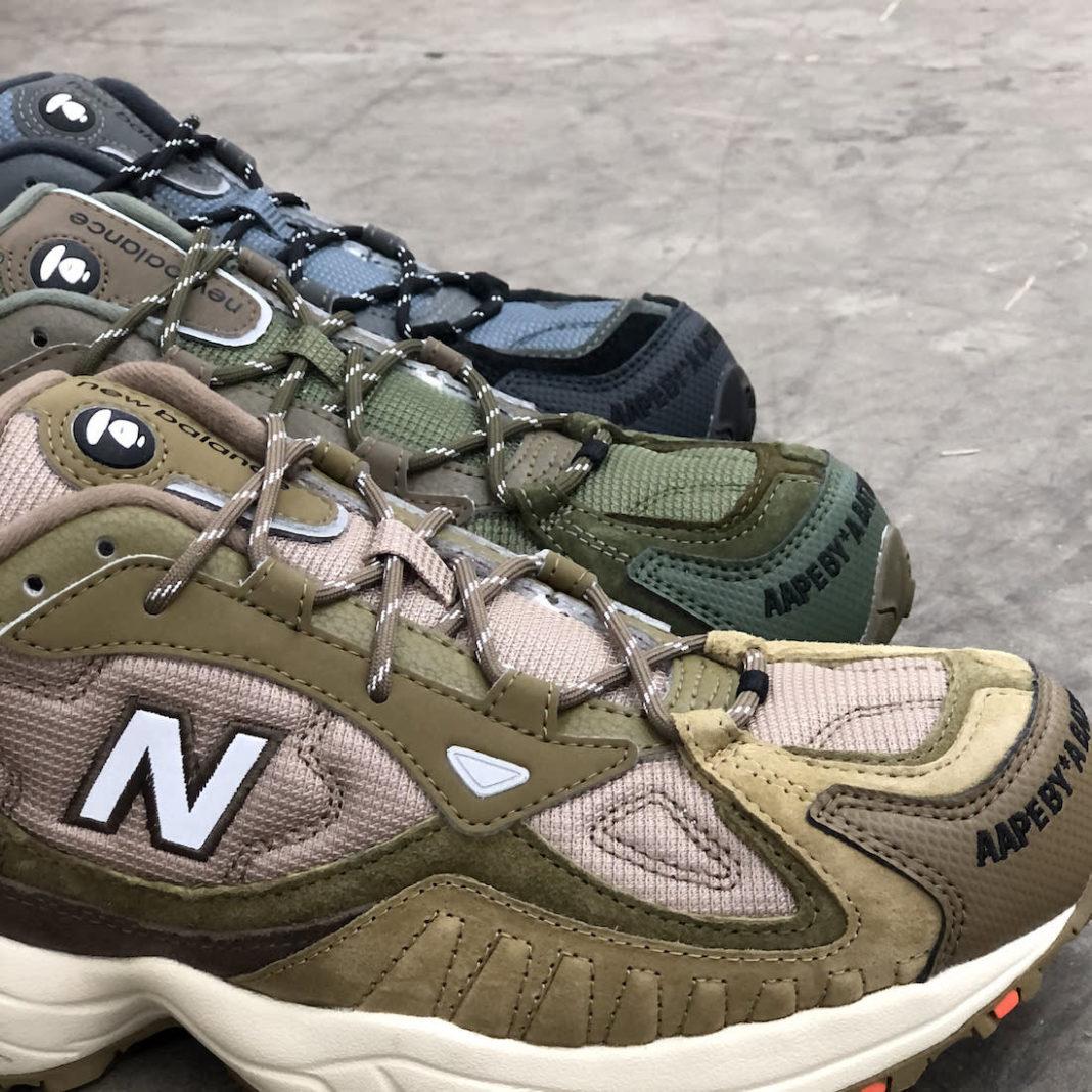 AAPE x New Balance 703