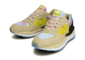 New Balance 57/40 Canary Yellow/Multi-color