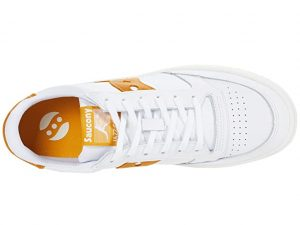 Saucony Jazz Court White/Yellow