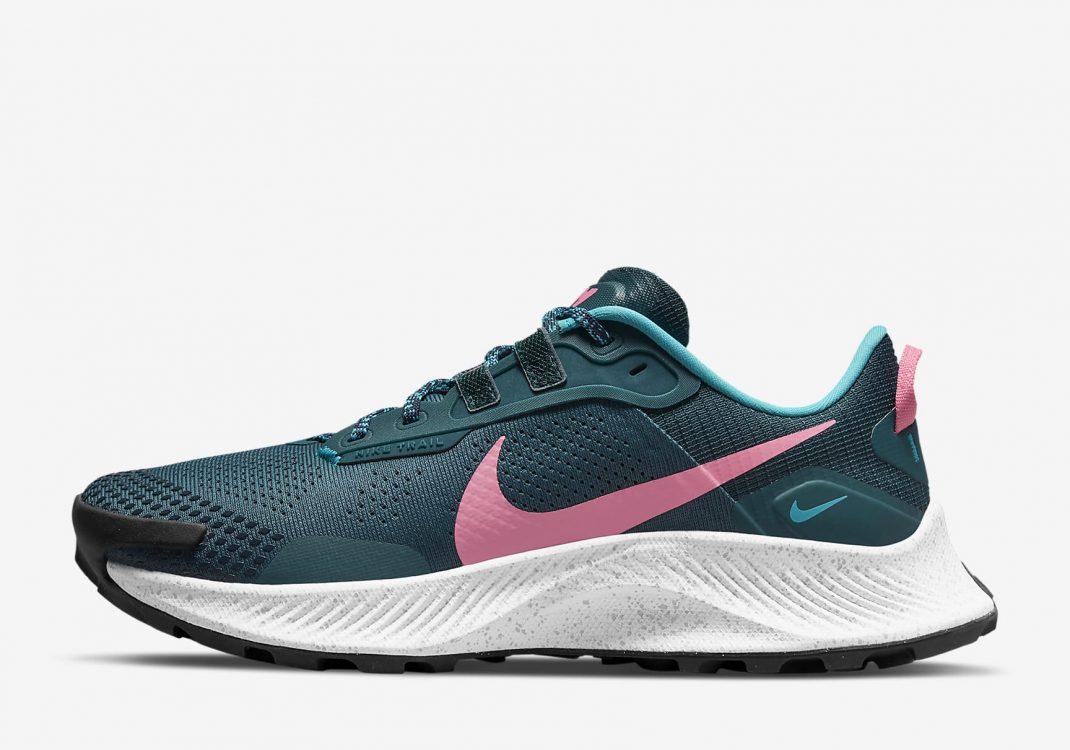 Nike Pegasus Trail 3 Dark Teal Green/Armory Navy/Turquoise Blue/Pink Glow