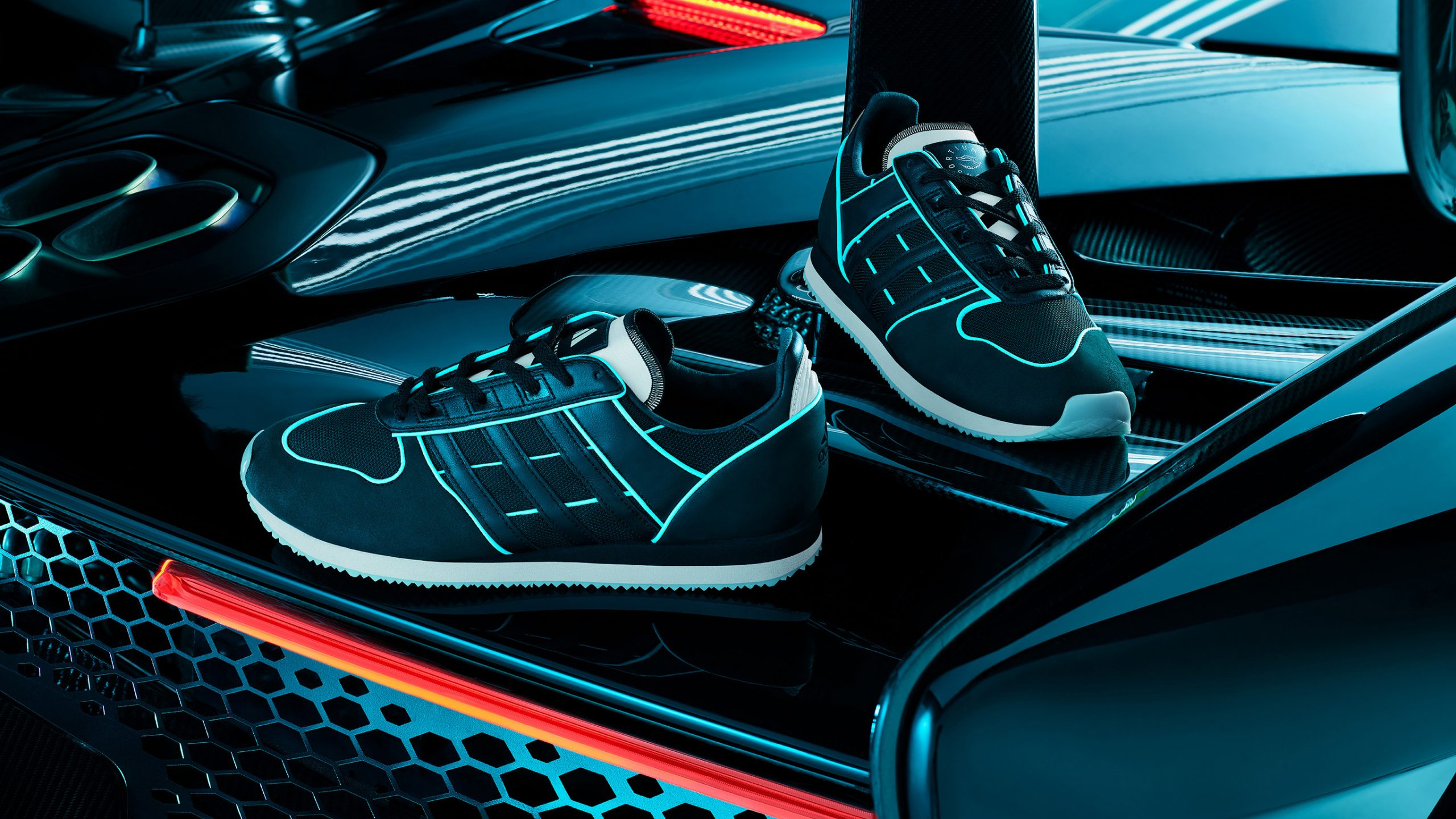 "Limited Edt x adidas EQT Equipment Race Walk ""F1 Night Race"""