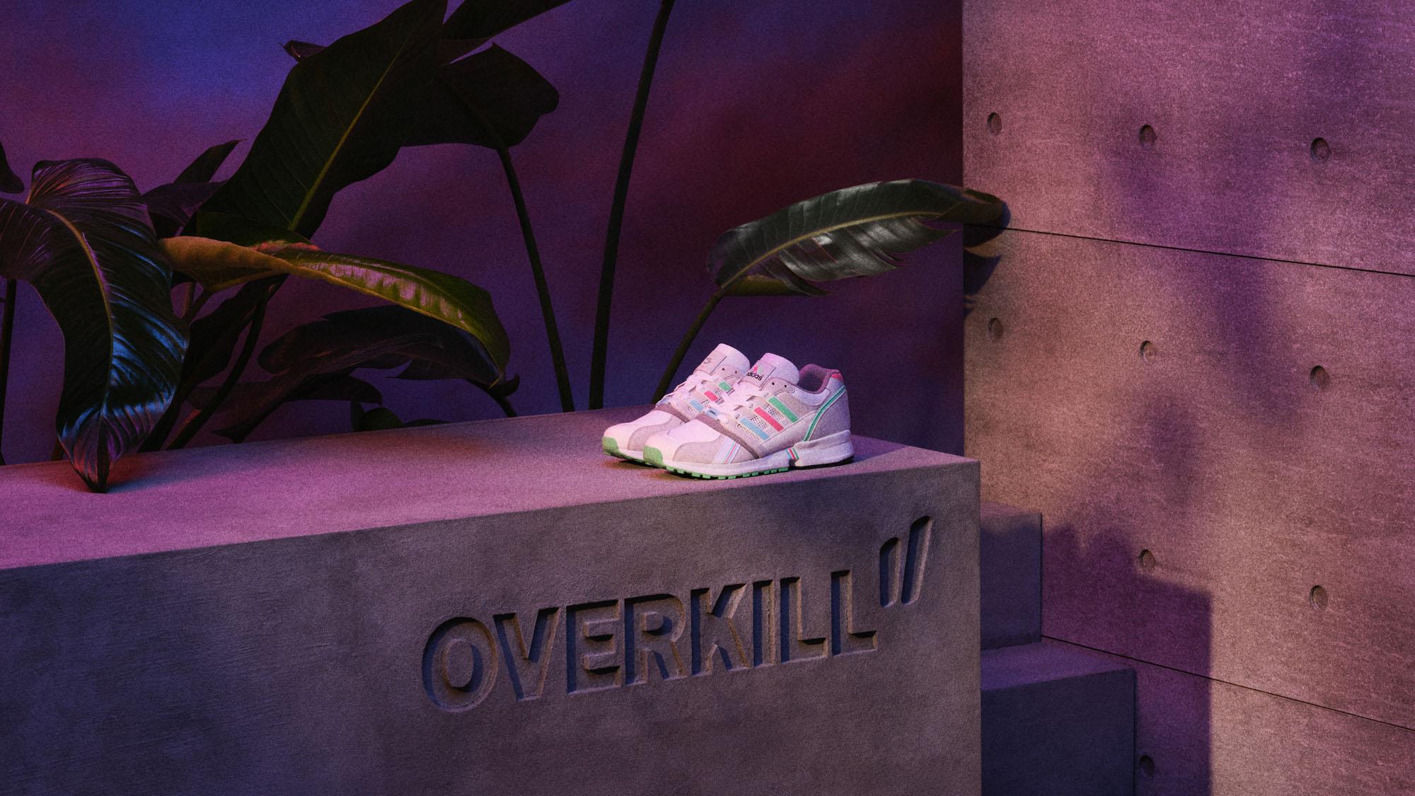 "Overkill x adidas EQT CSG Equipment 91 ""Pastel"""