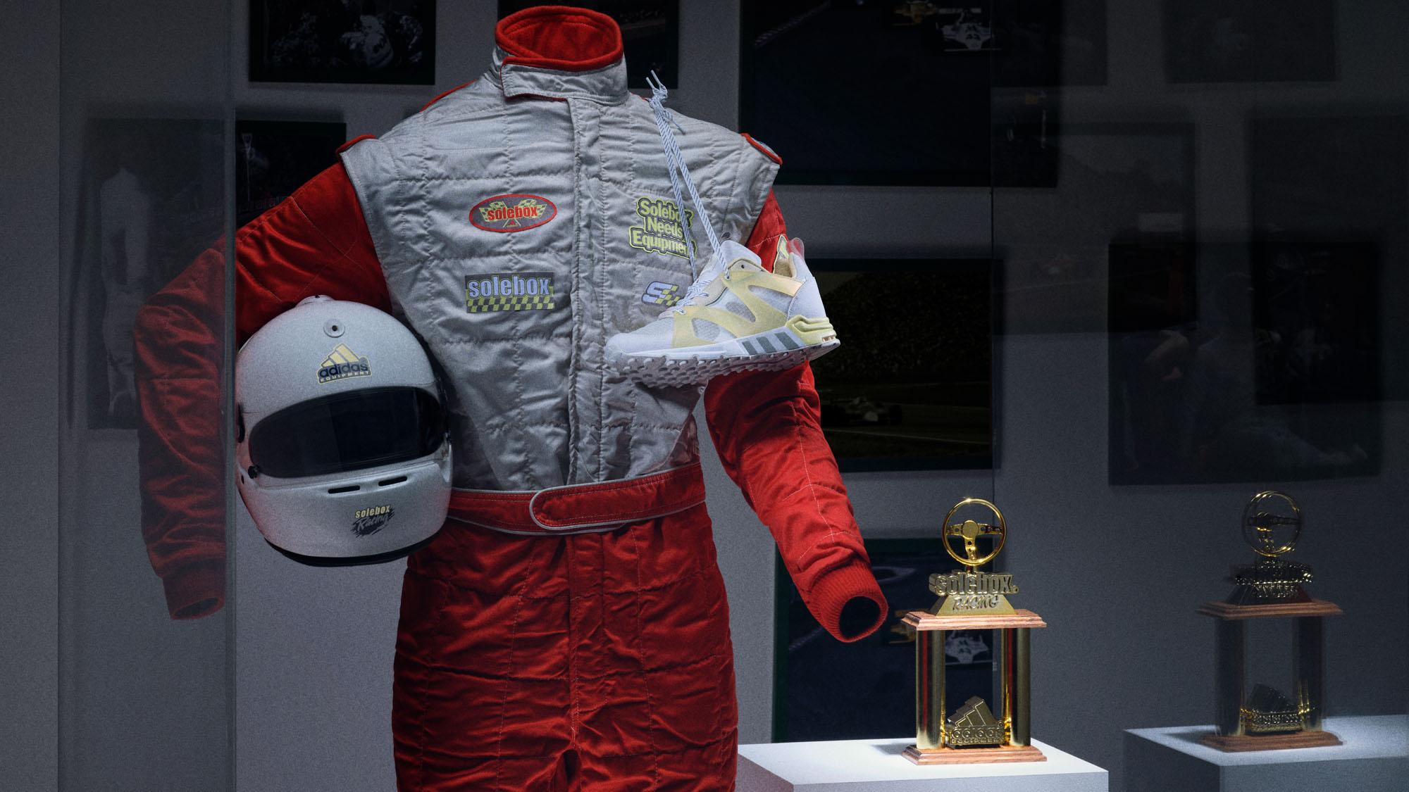 "Solebox x adidas EQT Equipment Prototype ""Grand Prix"""