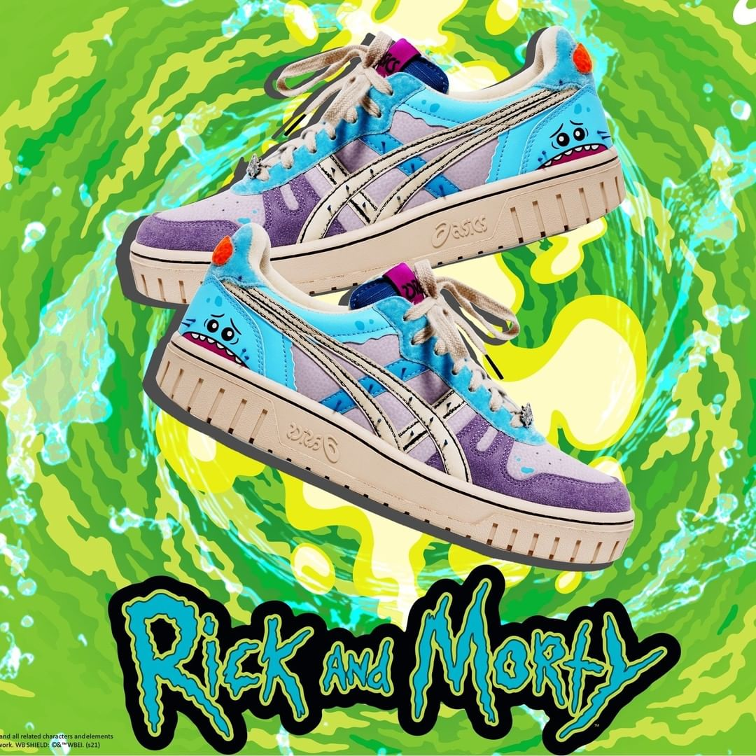 Rick and Morty x ASICS Court MZ