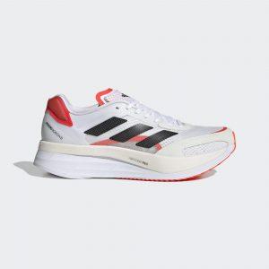 Adidas Adizero Boston 10 Cloud White/Core Black/Solar Red