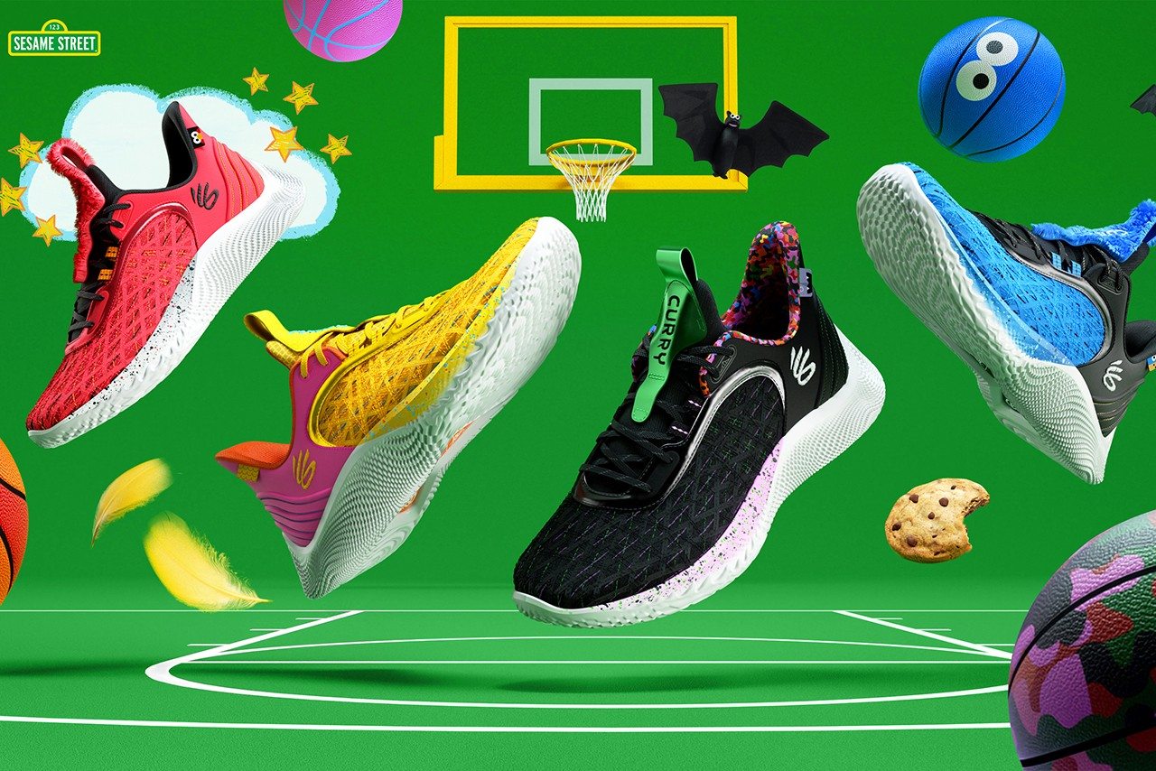 """Curry Flow 9 """"Street Pack"""""""
