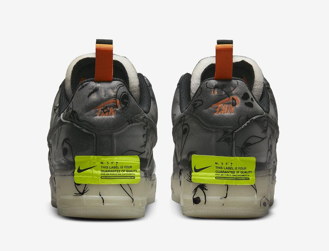 "Nike Air Force 1 Experimental ""Halloween"""