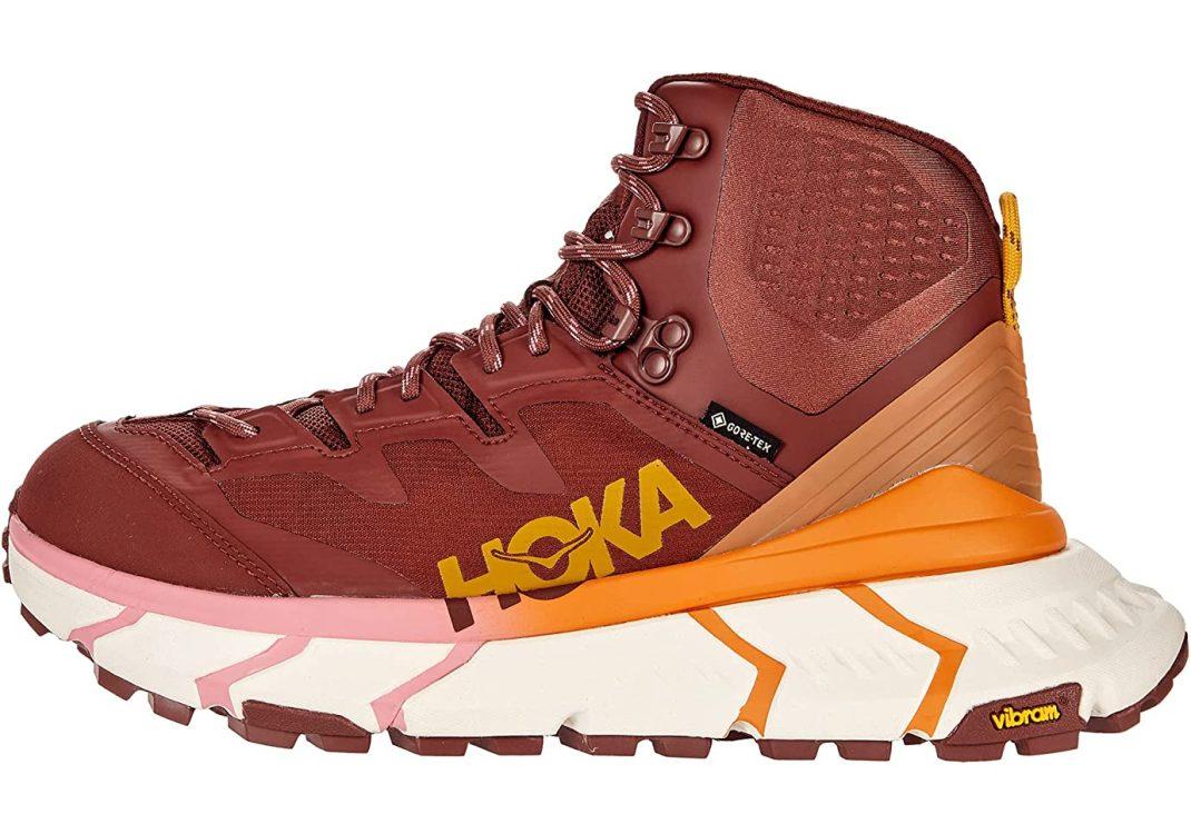 Hoka One One TenNine Hike GTX Cherry Mahogany/Strawberry Ice